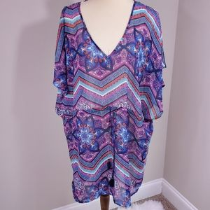 NWT Hawaiian Tropic swim coverup
